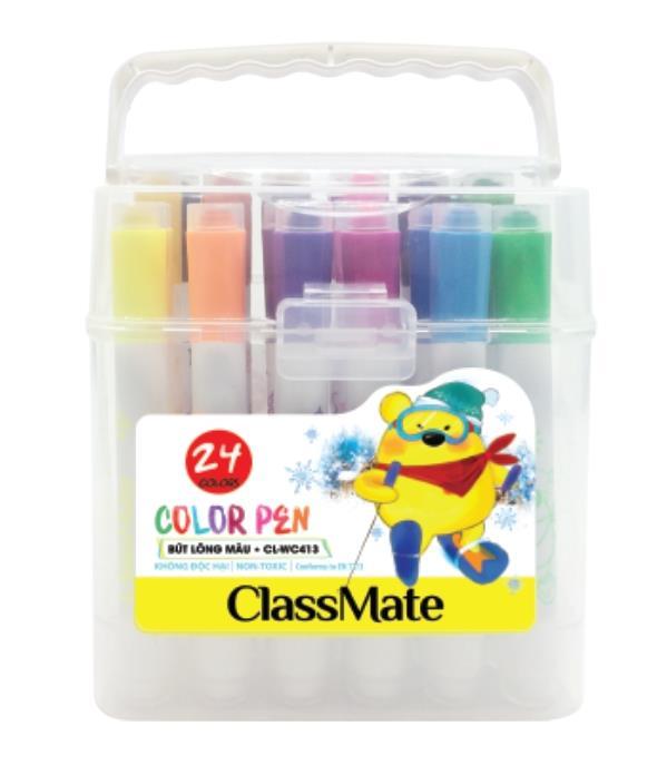 Túi bút lông màu(24 màu) (CL-WC413)