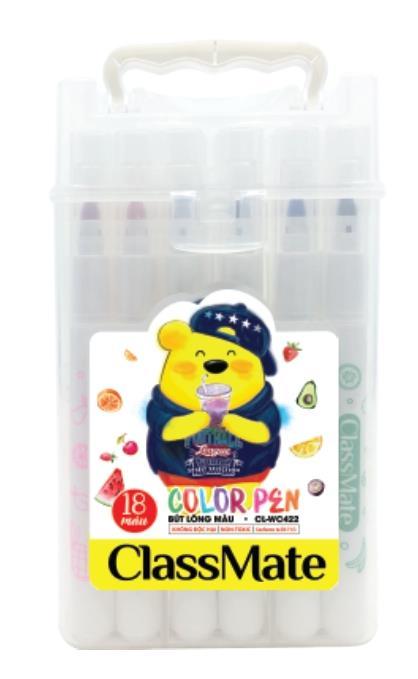 Túi bút lông màu(18 màu) (CL-WC422)