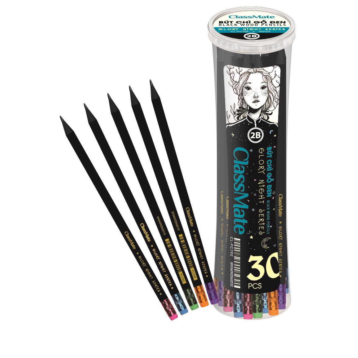 Bút chì gỗ 2B ( có tẩy) (CL-PC700)