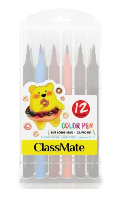 Hộp bút lông màu(12 màu) (CL-WC401)
